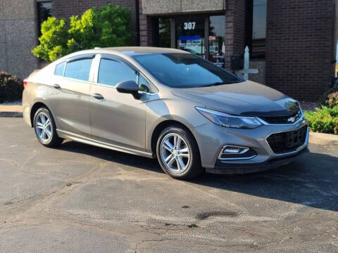 2017 Chevrolet Cruze for sale at Mighty Motors in Adrian MI