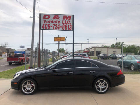 2006 Mercedes-Benz CLS for sale at D & M Vehicle LLC in Oklahoma City OK