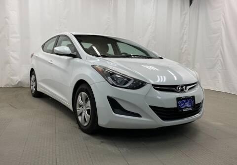 2016 Hyundai Elantra for sale at Direct Auto Sales in Philadelphia PA