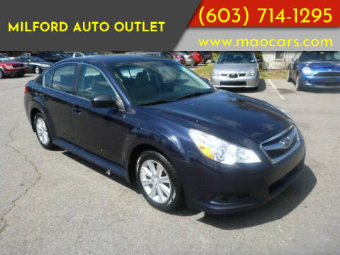 2012 Subaru Legacy for sale at Milford Auto Outlet in Milford NH