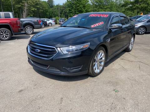 2016 Ford Taurus for sale at AutoMile Motors in Saco ME