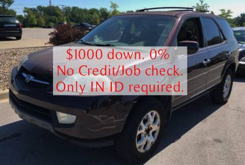 2002 Acura MDX for sale at D & J AUTO EXCHANGE in Columbus IN