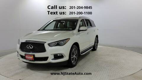 2018 Infiniti QX60 for sale at NJ State Auto Used Cars in Jersey City NJ