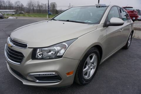 2015 Chevrolet Cruze for sale at MyEzAutoBroker.com in Mount Vernon OH