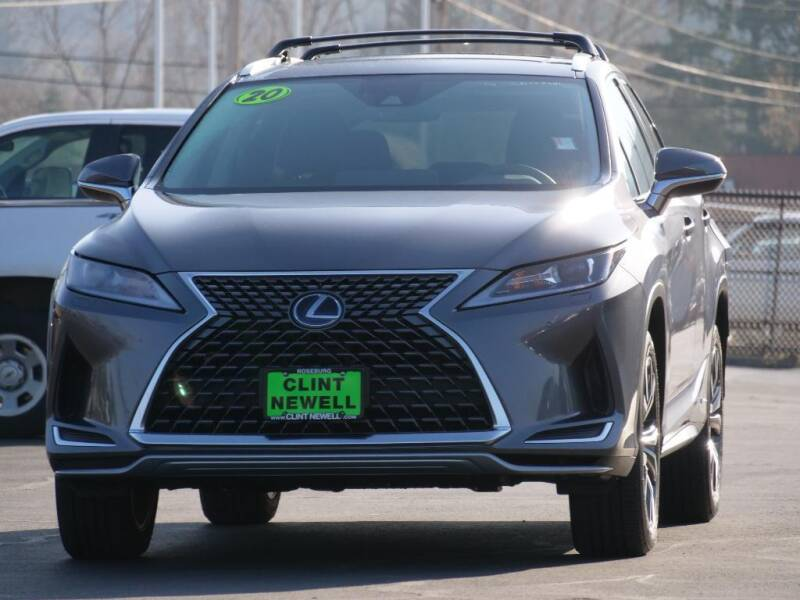 2020 Lexus RX 450h for sale at CLINT NEWELL USED CARS in Roseburg OR