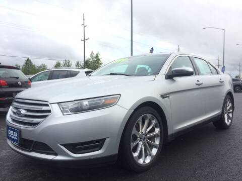2017 Ford Taurus for sale at Delta Car Connection LLC in Anchorage AK