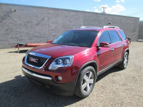 2009 GMC Acadia for sale at Stagner INC in Lamar CO