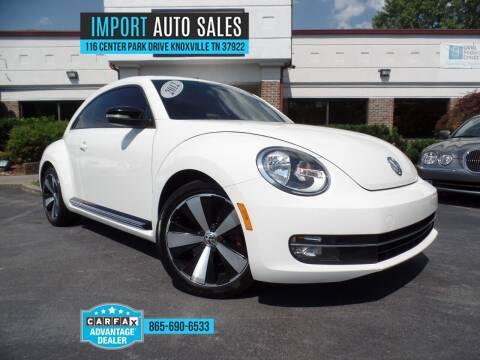 2012 Volkswagen Beetle for sale at IMPORT AUTO SALES in Knoxville TN