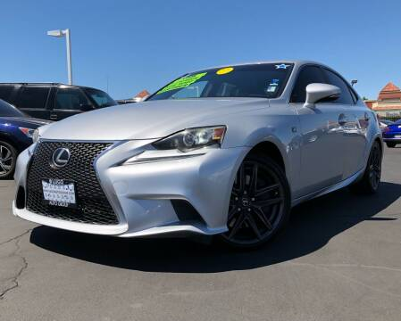 2014 Lexus IS 350 for sale at LUGO AUTO GROUP in Sacramento CA