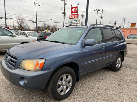 2007 Toyota Highlander for sale at 4th Street Auto in Louisville KY