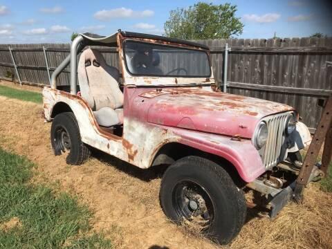 1959 Jeep CJ-5 for sale at Mafia Motors in Boerne TX