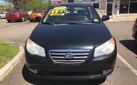 2008 Hyundai Elantra for sale at Advantage Motors in Newport News VA