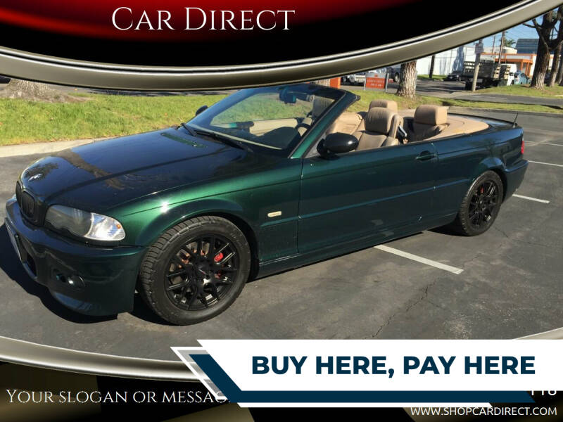 2001 BMW 3 Series for sale at Car Direct in Orange CA
