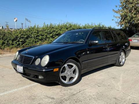 2001 Mercedes-Benz E-Class for sale at Auto Hub, Inc. in Anaheim CA