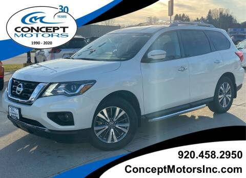 2020 Nissan Pathfinder for sale at CONCEPT MOTORS INC in Sheboygan WI
