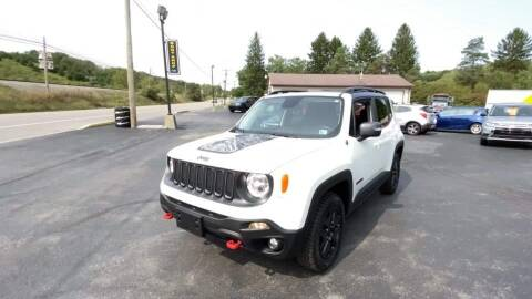 2017 Jeep Renegade for sale at Cj king of car loans/JJ's Best Auto Sales in Troy MI