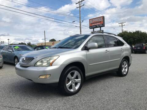 2007 Lexus RX 350 for sale at Autohaus of Greensboro in Greensboro NC