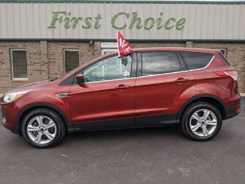 2015 Ford Escape for sale at First Choice Auto in Greenville SC