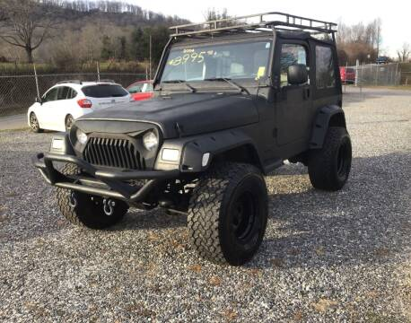 2004 Jeep Wrangler for sale at Arden Auto Outlet in Arden NC