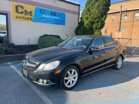 2010 Mercedes-Benz E-Class for sale at Car Mart Auto Center II, LLC in Allentown PA