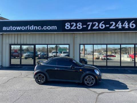 2014 MINI Coupe for sale at AutoWorld of Lenoir in Lenoir NC