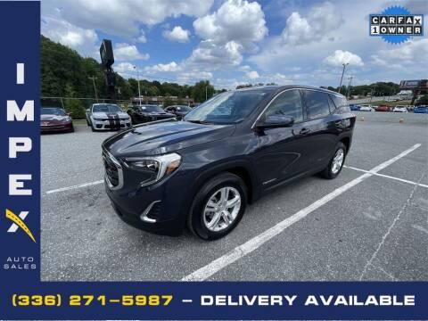 2019 GMC Terrain for sale at Impex Auto Sales in Greensboro NC