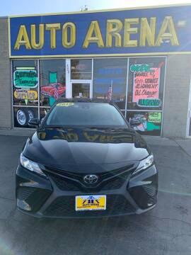 2019 Toyota Camry for sale at Auto Arena in Fairfield OH