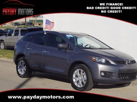 2008 Mazda CX-7 for sale at Payday Motors in Wichita And Topeka KS