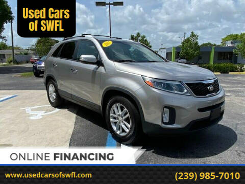 2015 Kia Sorento for sale at Used Cars of SWFL in Fort Myers FL