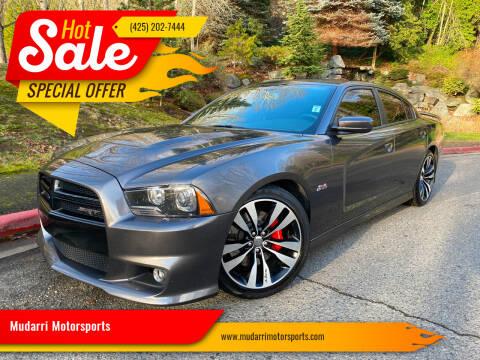 2014 Dodge Charger for sale at Mudarri Motorsports in Kirkland WA