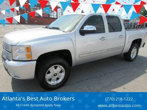 2012 Chevrolet Silverado 1500 for sale at Atlanta's Best Auto Brokers in Marietta GA