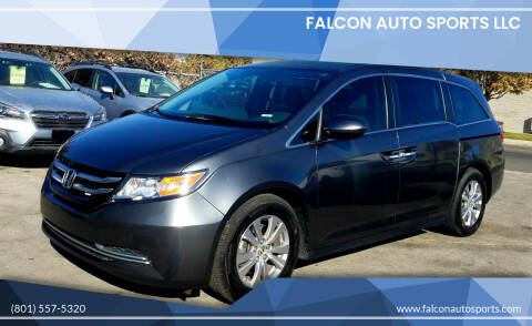 2016 Honda Odyssey for sale at Falcon Auto Sports LLC in Murray UT
