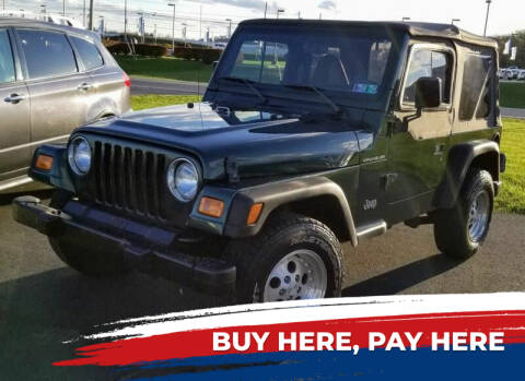 1999 Jeep Wrangler for sale at Lancaster Auto Detail & Auto Sales in Lancaster PA