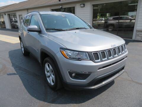 2020 Jeep Compass for sale at Tri-County Pre-Owned Superstore in Reynoldsburg OH