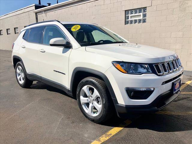 2018 Jeep Compass for sale at Richardson Sales & Service in Highland IN