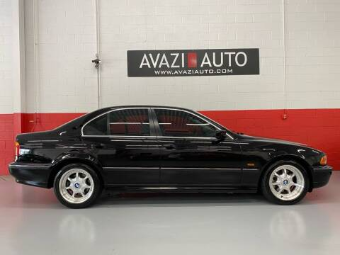 1997 BMW 5 Series for sale at AVAZI AUTO GROUP LLC in Gaithersburg MD