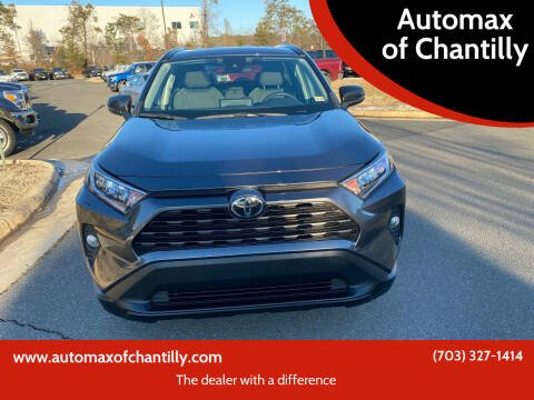 2020 Toyota RAV4 for sale at Automax of Chantilly in Chantilly VA