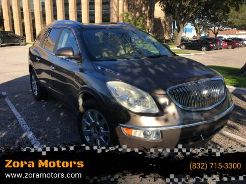 2011 Buick Enclave for sale at Zora Motors in Houston TX