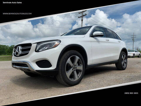 2019 Mercedes-Benz GLC for sale at Seminole Auto Sales in Seminole OK
