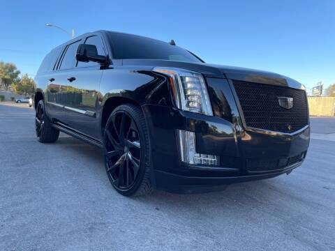 2016 Cadillac Escalade ESV for sale at Boktor Motors in Las Vegas NV