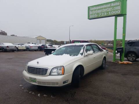 2003 Cadillac DeVille for sale at Independent Auto in Belle Fourche SD