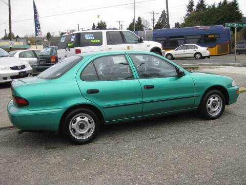 1995 GEO Prizm for sale at UNIVERSITY MOTORSPORTS in Seattle WA