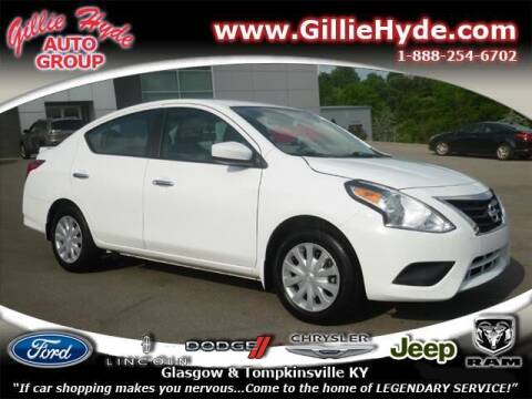 2019 Nissan Versa for sale at Gillie Hyde Auto Group in Glasgow KY