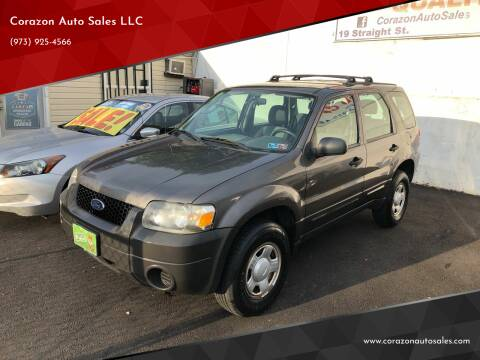 2006 Ford Escape for sale at Corazon Auto Sales LLC in Paterson NJ