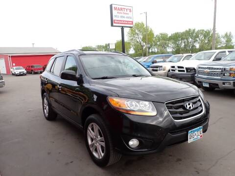 2011 Hyundai Santa Fe for sale at Marty's Auto Sales in Savage MN
