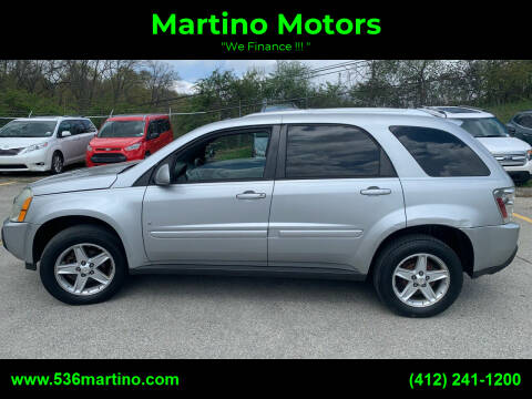 2006 Chevrolet Equinox for sale at Martino Motors in Pittsburgh PA