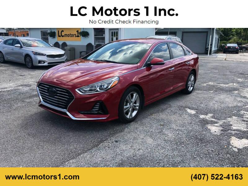 2018 Hyundai Sonata for sale at LC Motors 1 Inc. in Orlando FL