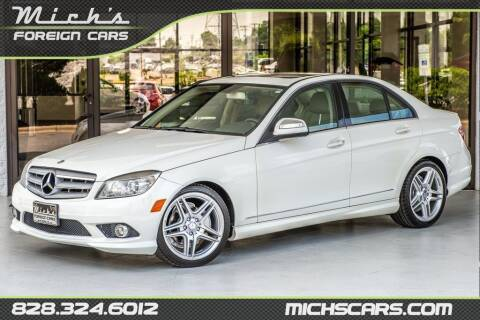 2009 Mercedes-Benz C-Class for sale at Mich's Foreign Cars in Hickory NC
