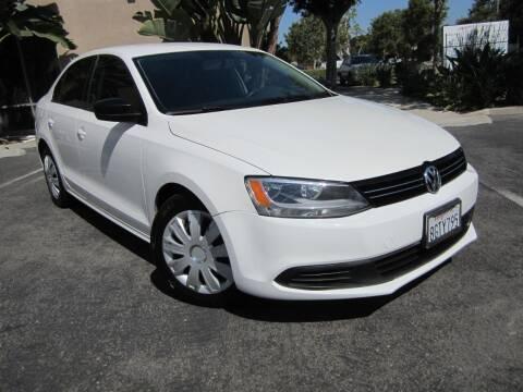 2012 Volkswagen Jetta for sale at ORANGE COUNTY AUTO WHOLESALE in Irvine CA