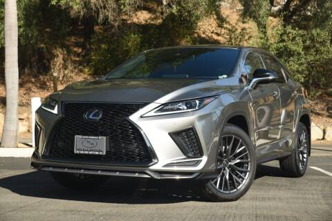 2020 Lexus RX 350 for sale at Milpas Motors in Santa Barbara CA